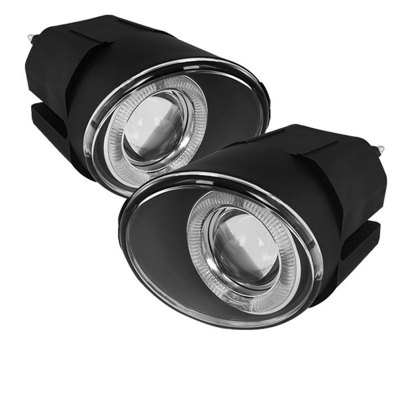 Spyder FL-P-NM00-HL:  Nissan Xterra 02-04 Projector Fog Lights - Clear