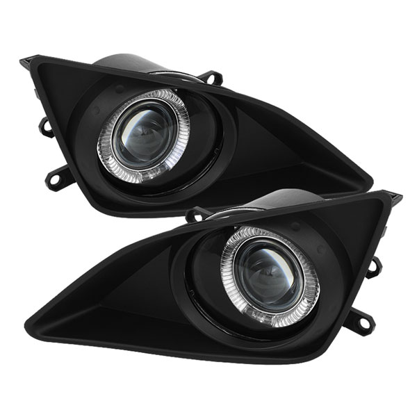 Spyder (5038715)  Toyota Corolla 09-10 Halo Projector Fog Lights - Clear - (FL-P-TCO08-HL)
