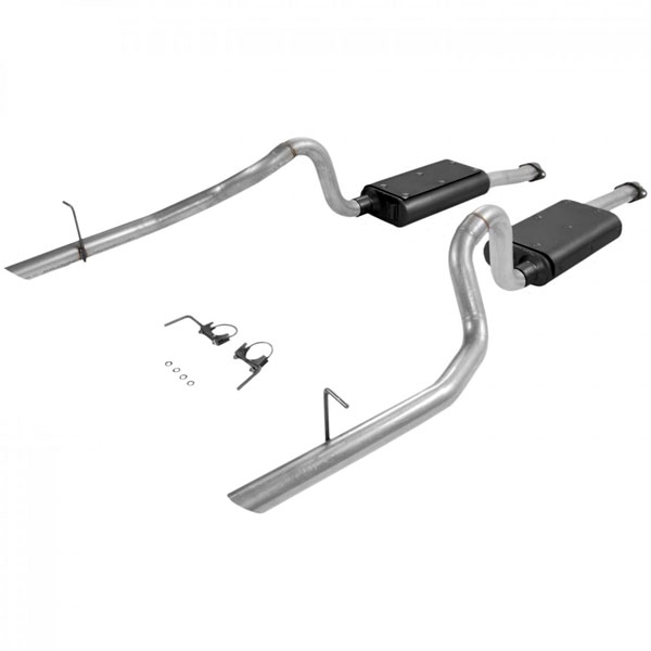 Flowmaster 17114 |  Ford Mustang GT / Cobra 4.6L / 5.0L Force II Exhaust System, Dual Out Rear V8; 1994-1997