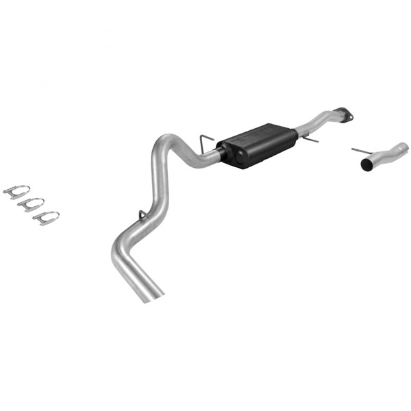 Flowmaster (17162)  92-94 Blazer / Jimmy 5.7L American Thunder Exhaust System, Single Out Side