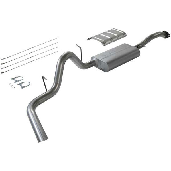 Flowmaster (17164)  95-95 / GMC Tahoe / Yukon 5.7L Force II Exhaust System, Single Out Side