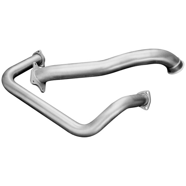Flowmaster 17220:  95-98 / GMC Truck 6.5L Turbo Diesel Crossover/Downpipe Kit