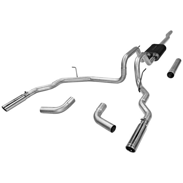 Flowmaster 17418:  Force II Exhaust System Ford Full Size 2004-2007 F-150 4.6L & 5.4L