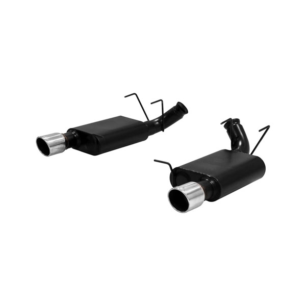 Flowmaster 817496 | Mustang 5.0L/5.4L American Thunder 3inch Axle-Back Exhaust V8; 2011-2012