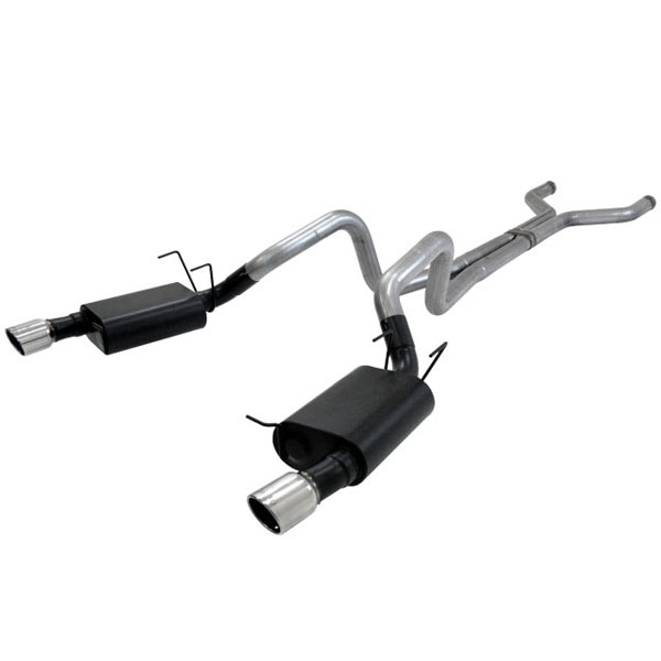 Flowmaster 817500:  2011-12 Mustang 5.0L American Thunder 3inch Cat-Back Exhaust V8