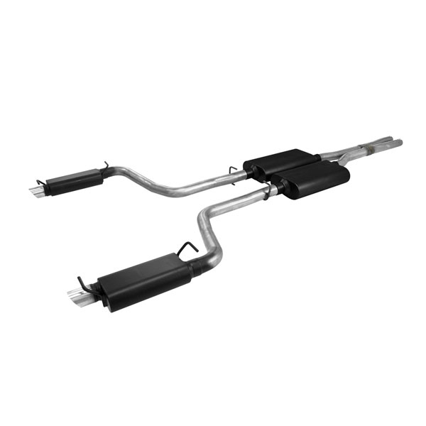 Flowmaster 817543 | Dodge Charger SE 3.6L Force II Kit; 2011-2014