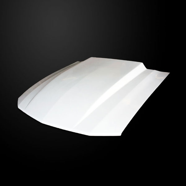 Amerihood FM05AHT4FHW | Ford Mustang Type-Cowl Style(3 Inch) Functional Heat Extraction Hood; 2005-2009