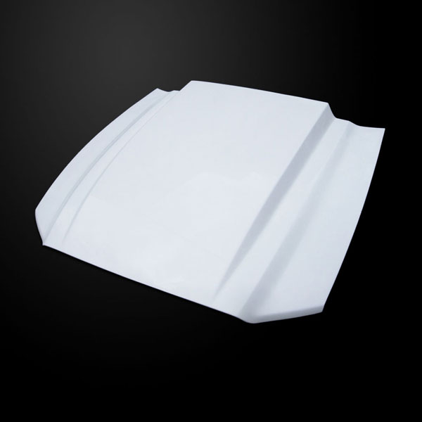 Amerihood FM13AHCWLFHW |  Ford Mustang 3 Inch Cowl Style Functional Heat Extraction Hood; 2013-2014