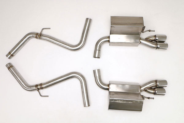 B&B Billy Boat Exhaust (FMER-0500) Billy Boat B&B Mercedes SL500 2002 - 2004 Exhaust System
