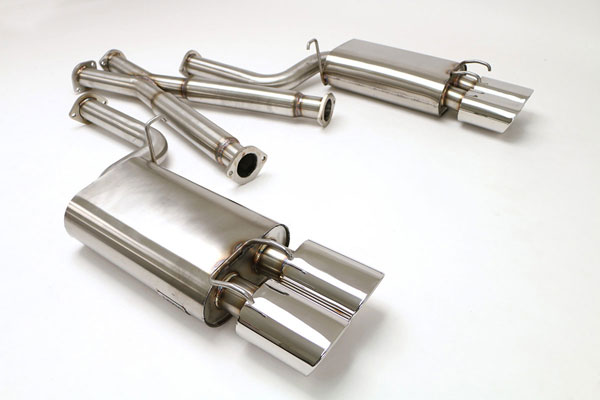 B&B Billy Boat Exhaust FPIM-0065: Billy Boat B&B Nissan 300ZX 1990 - 1996 Non-Turbo Coupe 2-1/2'' - Oval Tips
