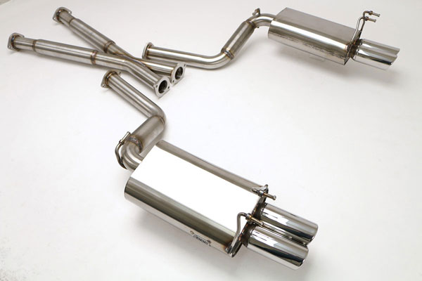 B&B Billy Boat Exhaust FPIM-0070: Billy Boat B&B Nissan 300ZX 1990 - 1996 Non-Turbo 2X2 2-1/2'' - Round Tips
