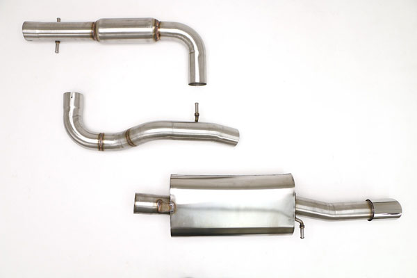 "B&B Billy Boat Exhaust FPIM-0220 | Billy Boat B&B Volkswagen Jetta / GLI - MK4 GLI Catback 3"" w/Single Tip; 2003-2005"