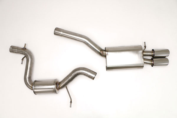 B&B Billy Boat Exhaust (FPIM-0225) Billy Boat B&B Volkswagen Jetta / GLI 2006 - 2010 MK5 GLI 2.0T Catback Stealth