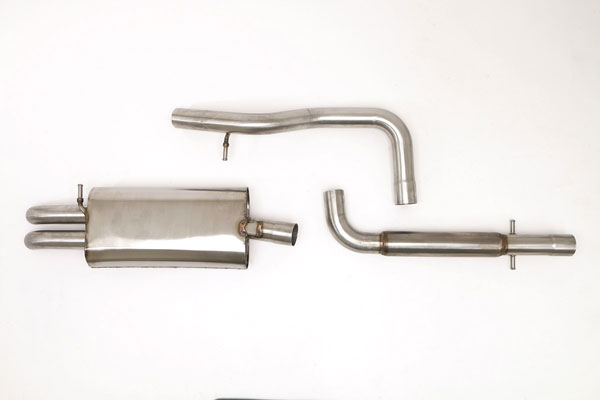 B&B Billy Boat Exhaust FPIM-0265: Billy Boat B&B Volkswagen Jetta / GLI 2000 - 2002 MK4 Jetta Catback 2.5'' w/o Tips