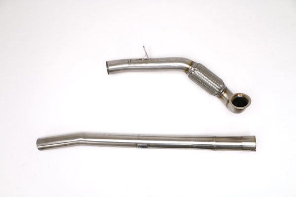 B&B Billy Boat Exhaust (FPIM-0464)  Billy Boat Audi A3 Quattro/S3 Downpipe CATLESS