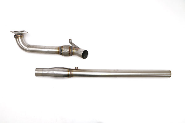 B&B Billy Boat Exhaust FPIM-0478 | Billy Boat B&B Audi A3 Quattro 2.0T Downpipe 3 Inch; 2009-2013