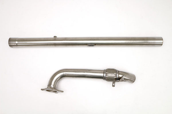 B&B Billy Boat Exhaust FPIM-0479:  Billy Boat Audi A3 2009 - 2014 Quattro / 2.0T CATLESS Downpipe