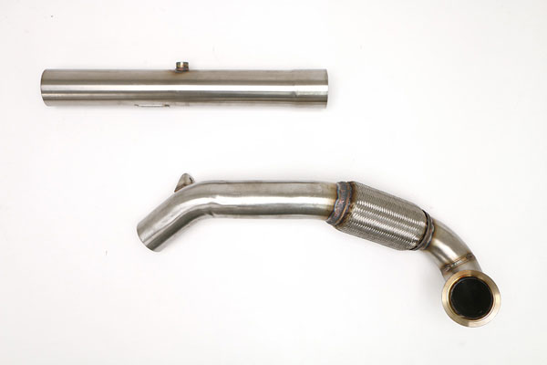 B&B Billy Boat Exhaust FPIM-0491 |  Billy Boat Volkswagen MK7 2015 Downpipe (MQB) CATLESS
