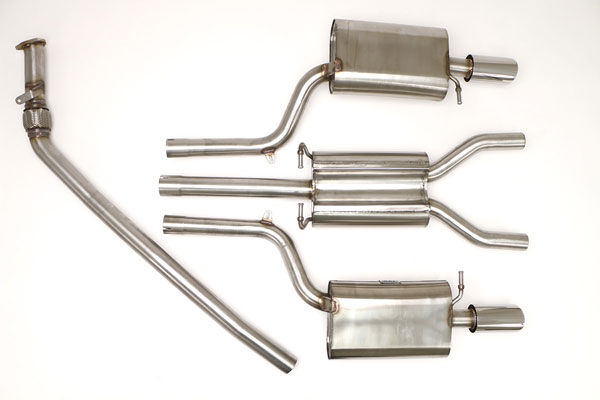 B&B Billy Boat Exhaust FPIM-0504 | Billy Boat B&B Audi A4 - B7 A4 Quattro 2.0T Tiptronic; 2005-2008