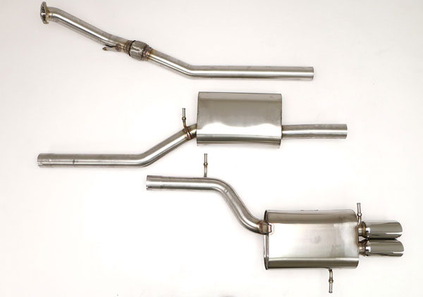 B&B Billy Boat Exhaust FPIM-0505: Billy Boat B&B Audi A4 1997 - 2001 B5 A4 Quattro 1.8T 5spd