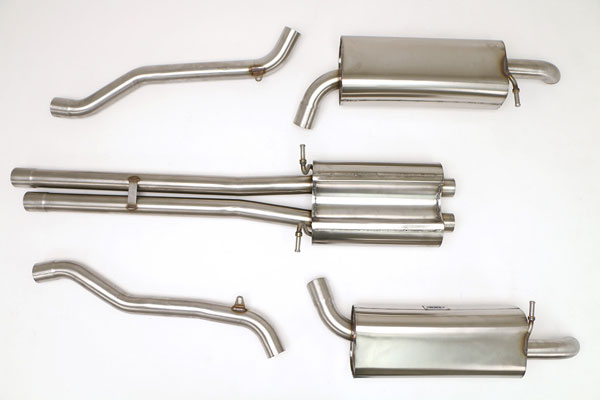 B&B Billy Boat Exhaust FPIM-0514: Billy Boat B&B Audi A6 2000 - 2001 A6 Catback 2.7T 6spd (CB will fit 4.2L also)