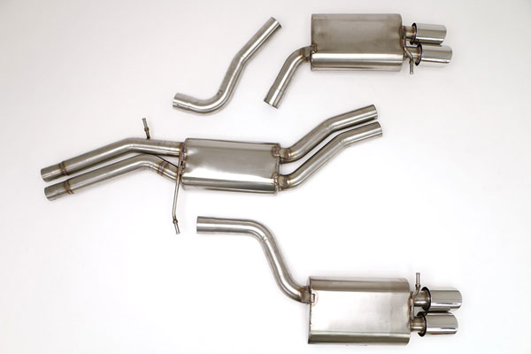 B&B Billy Boat Exhaust FPIM-0570: Billy Boat B&B Audi S5 2008 - 2009 S5 4.2L V8 Catback Stealth
