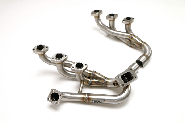 B&B Billy Boat Exhaust FPOR-0115: Billy Boat B&B Porsche 930/911 1979 - 1989 930/911 Turbo Header w/o Heat Exchangers 1-5/8''