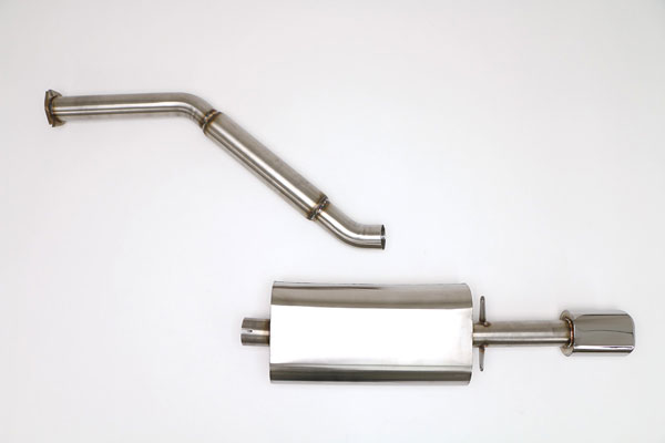 B&B Billy Boat Exhaust FPOR-0550 | Billy Boat B&B Porsche 944 1983 - 1989 944 Cat Back Exhaust System