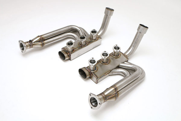 "B&B Billy Boat Exhaust FPOR-0600 | Billy Boat B&B Porsche Carrera 2/ 4 - Carrera 2/4 Header w/Heat Exchangers 1-3/4""; 1990-1994"
