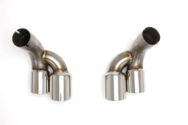 B&B Billy Boat Exhaust (FPOR-2010) Billy Boat B&B Porsche 996 1999 - 2004 996 Optional Quad Double Wall Tips Upgrade, Pair