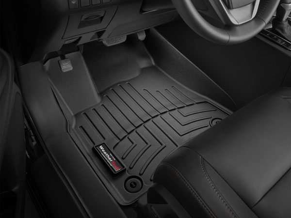 WeatherTech (444471)  Front FloorLiner Jaguar XJ Series 2011 - 2016, Black (Does not fit AWD version)