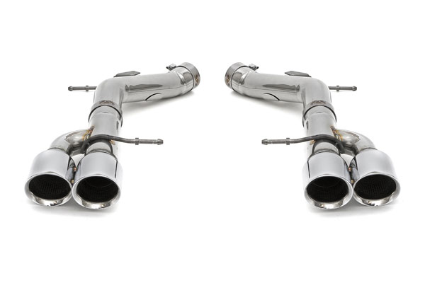 Fabspeed FS.BMW.F10.MBP   BMW M5 F10 Muffler Bypass Pipes with Polished Chrome Tips; 2011-2016