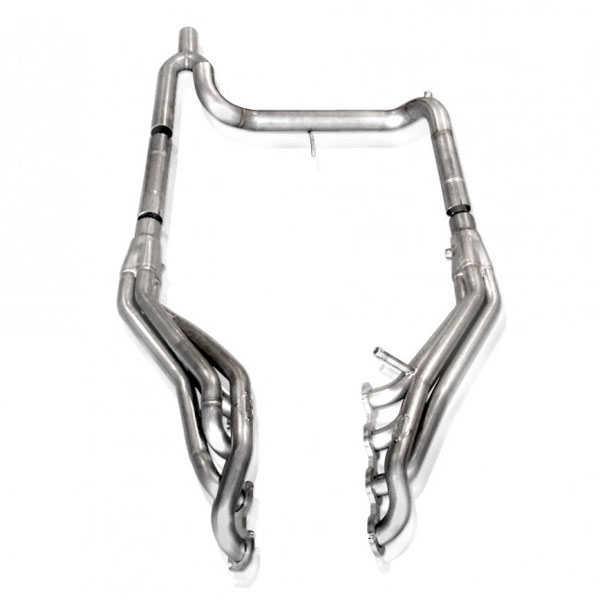 Stainless Works FT05CAT:  2004 - 2008 Ford F-150 4.6L 1500 4wd Headers w. Catted Lead Pipes 1-5/8