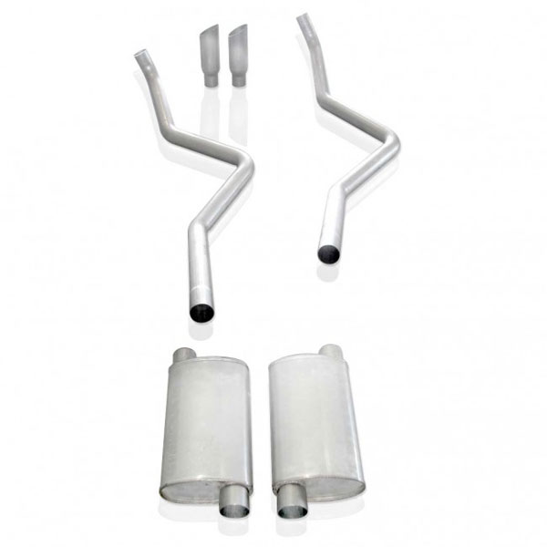 Stainless Works FT09CBRTHDR:  2009 - 2010 Ford F-150 5.4L 1500 2wd / 4wd Catback Exhaust 2-1/2 inch