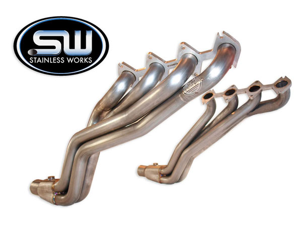 Stainless Works FT09HB:  2009 - 2010 Ford F-150 5.4L 1500 2wd / 4wd Headers 1-3/4 inch