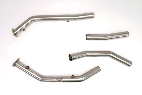 B&B Billy Boat Exhaust FTRU-0444: Billy Boat B&B Dodge Ram SRT-10 2004-2007 Front Pipes to OEM Manifolds w/o Cats