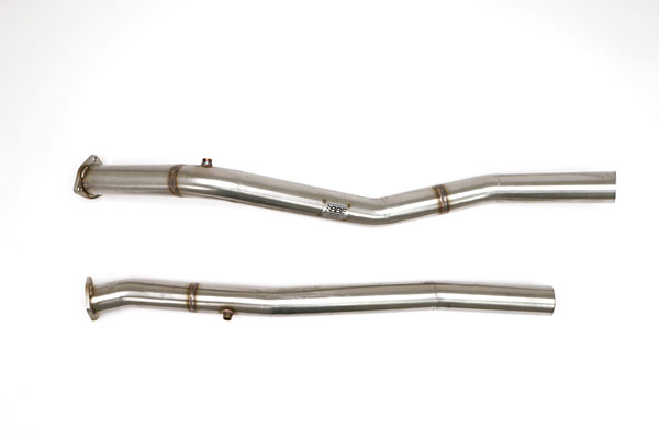 B&B Billy Boat Exhaust FTRU-0447 | Billy Boat B&B Dodge Ram SRT-10 Front Pipes to BB Headers w/o Cats; 2004-2007