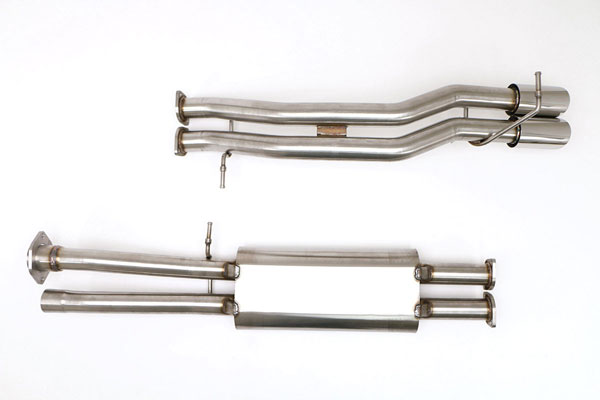 B&B Billy Boat Exhaust FTRU-0541: Billy Boat B&B Hummer H2 2003 - 2006 H2 / SUT Catback True Dual
