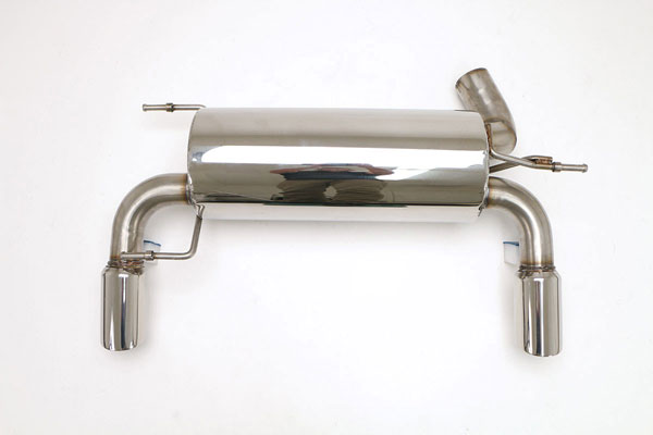"B&B Billy Boat Exhaust FTRU-0552 | Billy Boat B&B Hummer H3 - Alpha 5.3L Dual w/3-1/2"" Double Wall Round Tips; 2008-2009"