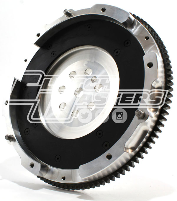 Clutch Masters FW-735-7AL |  Aluminum Flywheel Mitsubishi Lancer - 2.0L Turbo Evo 1-3 (9 lbs); 1992-1995