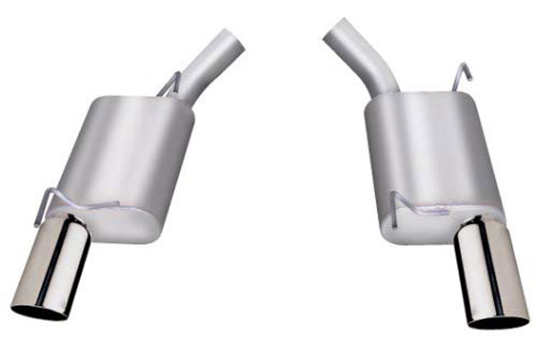 Gibson Exhaust 619001 | Gibson Exhuast System for 2005-10 Mustang GT (Stainless Steel) V8