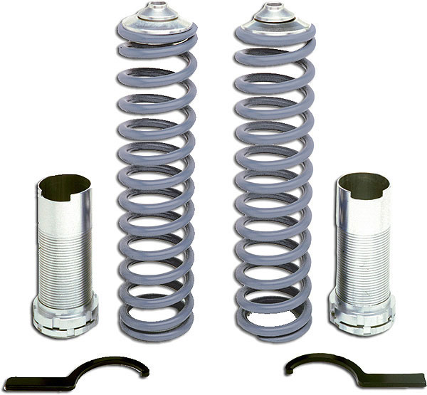 Granatelli GM-CO7998RR | Mustang Front Coil-Over Kit (Spring Rate 400lb.); 1979-2004