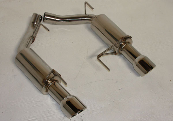 Granatelli GM-ES2525:  2011 Ford Mustang 5.0 Axle Back Exhaust Kit