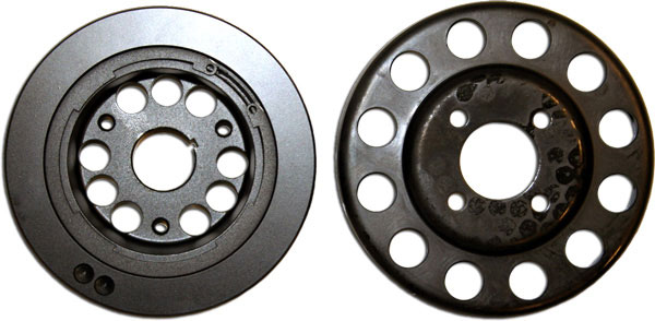 Granatelli GM-UP05:  2005-2010 Mustang GT Power Pulleys