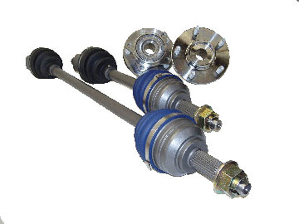 The Driveshaft Shop GM36 | Chevy Cavalier/Pontiac Sunfire 750 HP 5-Speed manual Axle/Hub kit Level 5 (includes 2.2 - 2.4 and Ecotec all); 1995-2004