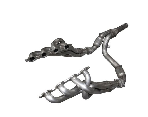 American Racing Headers GM53-14134300LSWC | GM Truck 5.3L Long System With Cats: 1-3/4in x 3in Headers, 3in Y-Pipe With Cats; 2014-2018