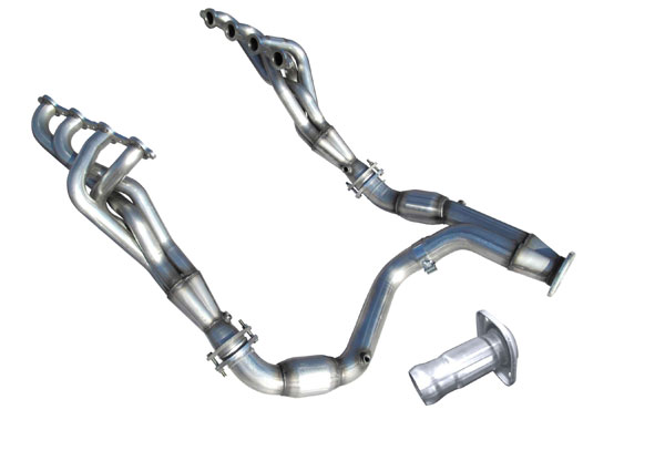 American Racing Headers (GM60-07134300LSNC)  GM Truck 6.0L 2007-2013 Long System No Cats: 1-3/4in x 3in Headers, 3in Y-Pipe No Cats