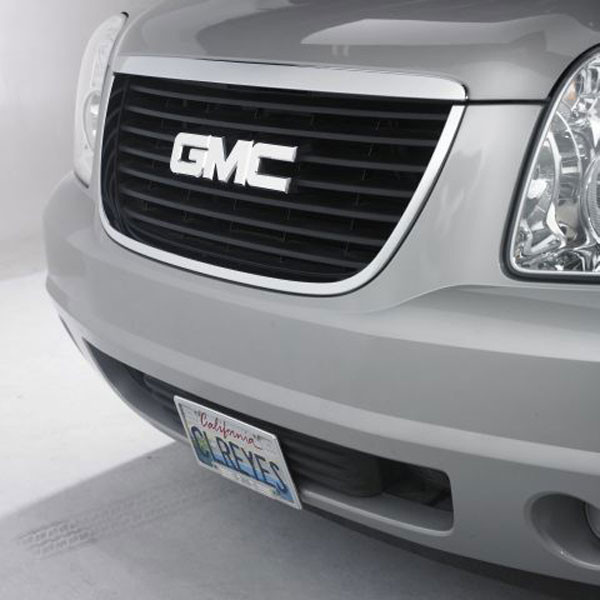 Empire GMCGLP:  88-06 Sierra/Yukon GMC Grille Emblem Smoothie - Polished