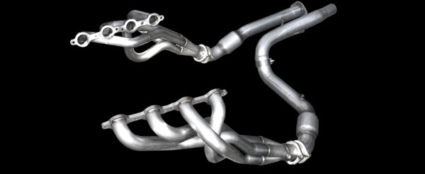 American Racing Headers GMTE34WC |  ARH LongTube 1-3/4 304-SS Headers for GM Trucks Full Size 6.0L / 5.3L / 4.3L with Cats; 1999-2006
