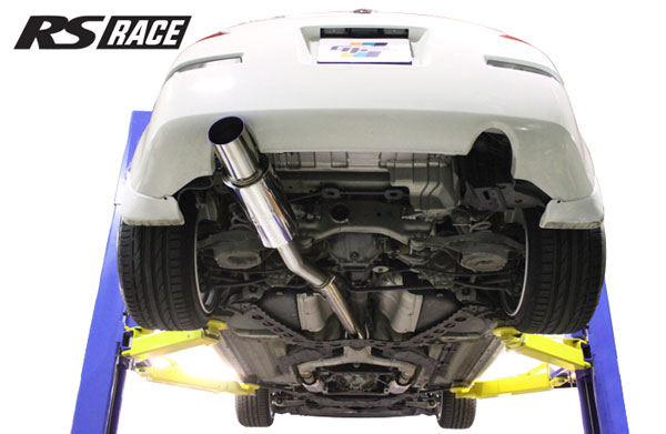 GReddy 10128403 | 03-08 Nissan 350z Revolution RS Exhaust (SS Y-Pipe Not Incl.); 2003-2008